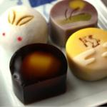お月見の上生菓子4種類
